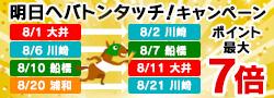 SPAT4プレミアムポイント明日へバトンタッチ!キャンペーン