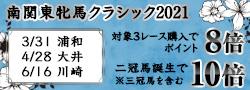 南関東牝馬クラシック2021キャンペーン