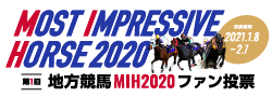 「Most Impressive Horse」ファン投票キャンペーン